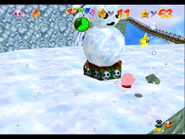 Super Mario 64 - Kirby Edition - YAY it only took twelve hours - User Screenshot